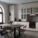 кухня метод фасады будбин в интерьере фото икеа
