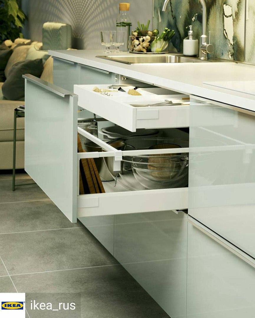 Дизайн кухни зеленый цвет 22