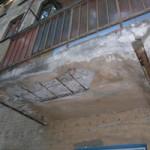 Цементирование балконной плиты