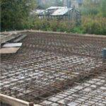 Армирование монолитной плиты фундамента