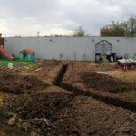 Разметка участка под строительство дома