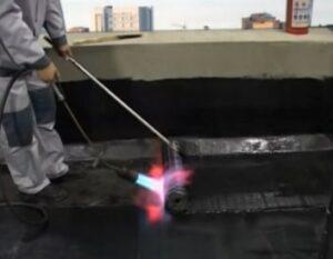 ремонт гидроизоляции рулонной кровли