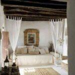 Спальня в стиле летнего пляжного домика