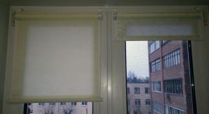 рольшторы на окне
