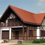 Отделка каркасного дома в стиле шале: красота, проверенная временем