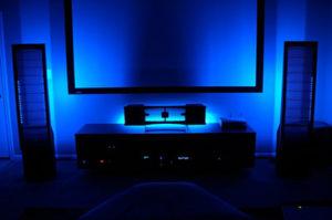 голубой свет светодиодные лампы