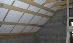 как утепляют потолок