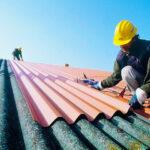 Ремонт шиферной крыши дачного домика