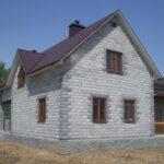 Недорогой проект дома из пено- и газобетонных блоков