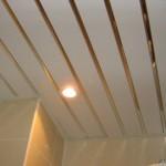 Потолки реечного типа