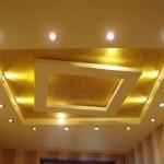 Многоуровневый потолок из гипсокартона — фото интерьера, принцип работы