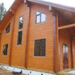 Как построить дом из клееного бруса самому