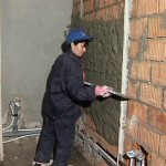 Маяк для штукатурки стен — выравнивание по маякам