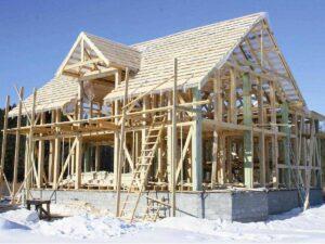 Строительство в холодное время года