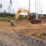 Земляные работы перед строительством