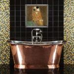 Панно из кафельной плитки в ванной