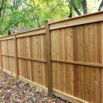 Как я ставил деревянный забор