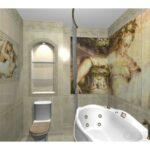Замена, ремонт плитки в ванной комнате своими руками
