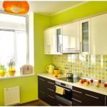 Кухня - зеленый цвет-1