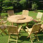 Мебель из дуба для дачи и сада