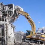 Демонтаж зданий: методы работ