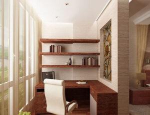 фото комнаты на балконе