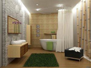 ванной комнаты с ДПК