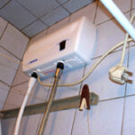 Подключение водонагревателя электрического проточного