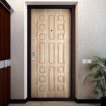 Особенности входных дверей из дуба