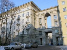 домах сталинской постройки