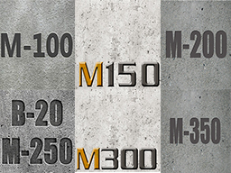 Бетон М100, М150, М200