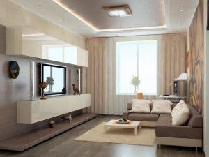 Интерьер гостиной — бюджетные идеи