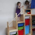Контейнер труфаст в детской лестница