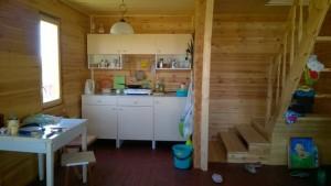 Кухня овербу от Икеа фото