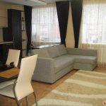 Угловой диван Монстад от Икеа фото в интерьере