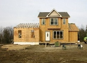 дом, строительство