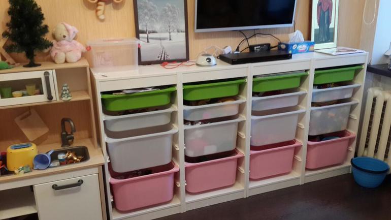 контейнеры труфаст от икеа в интерьере детской 30 фото