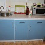 Кухня альбру от Икеа в интерьере фото