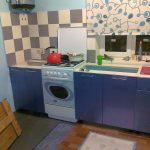 Кухня альбру синий