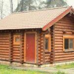 Строительство русской бани из бревна и бруса