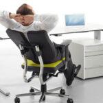 Регулировка офисного кресла