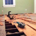 Как поправить деревянный пол в частном доме (замена настила)