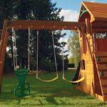 Постройка детской площадки для дачи своими руками