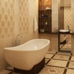 Керамическая плитка в ванную — способ современно и эстетично оформить помещение!