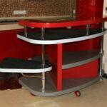 Барная стойка для кухни — трансформер, складная (откидная)