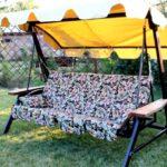 Садовые качели: мебель для вашего отдыха