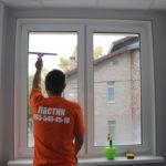 Весеннее мытьё окон и фасадов
