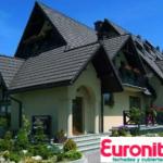 Цементно-песчаная черепица Euronit и ее достоинства