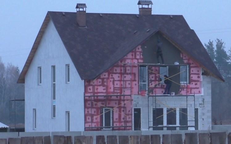 дом из газобетона без утепления