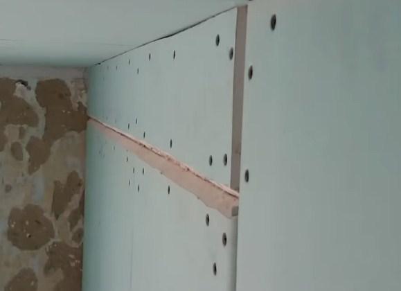 Обшивка стен из гипсокартона